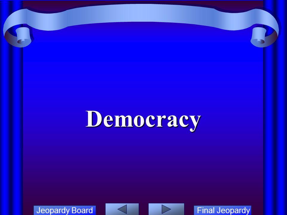 Jeopardy Board Final Jeopardy ANCIENT GREECE JEOPARDY  - ppt