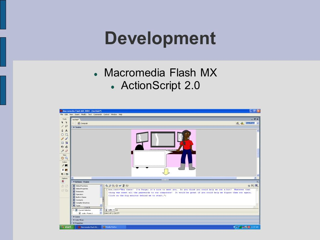 7 Development Macromedia Flash MX ActionScript 2.0
