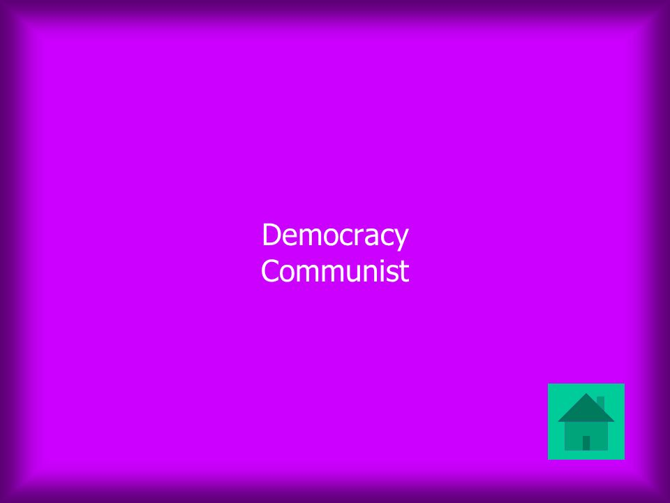 Democracy Communist