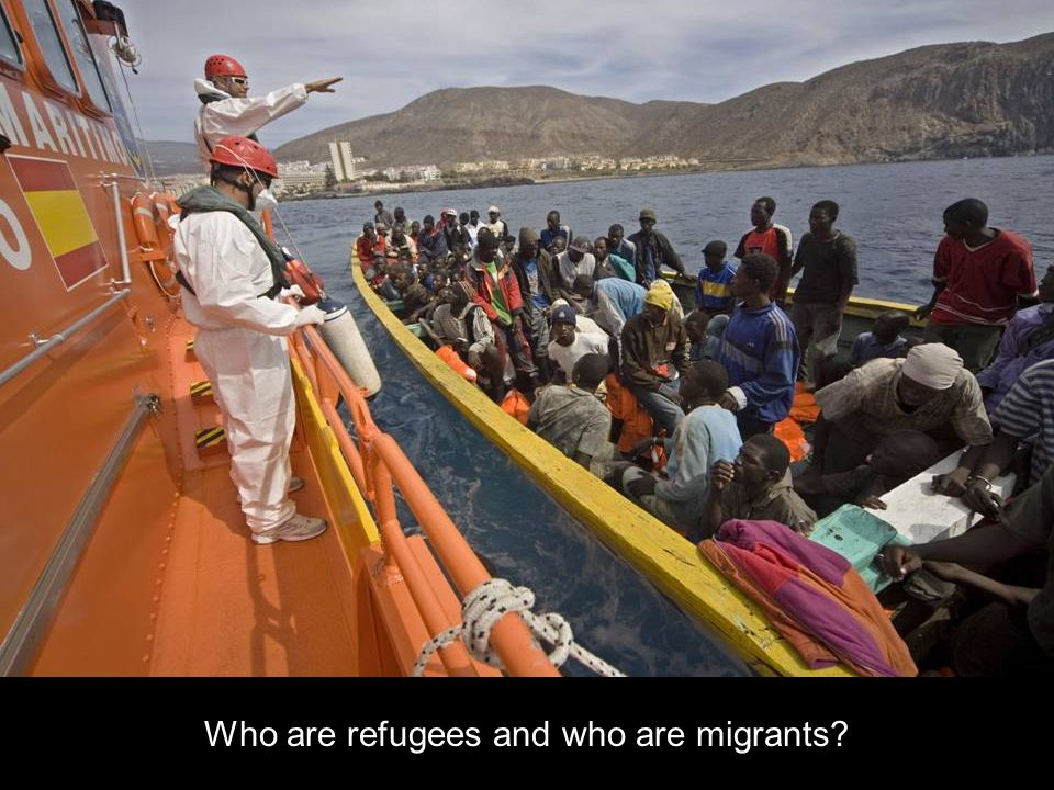 Who are refugees and who are migrants