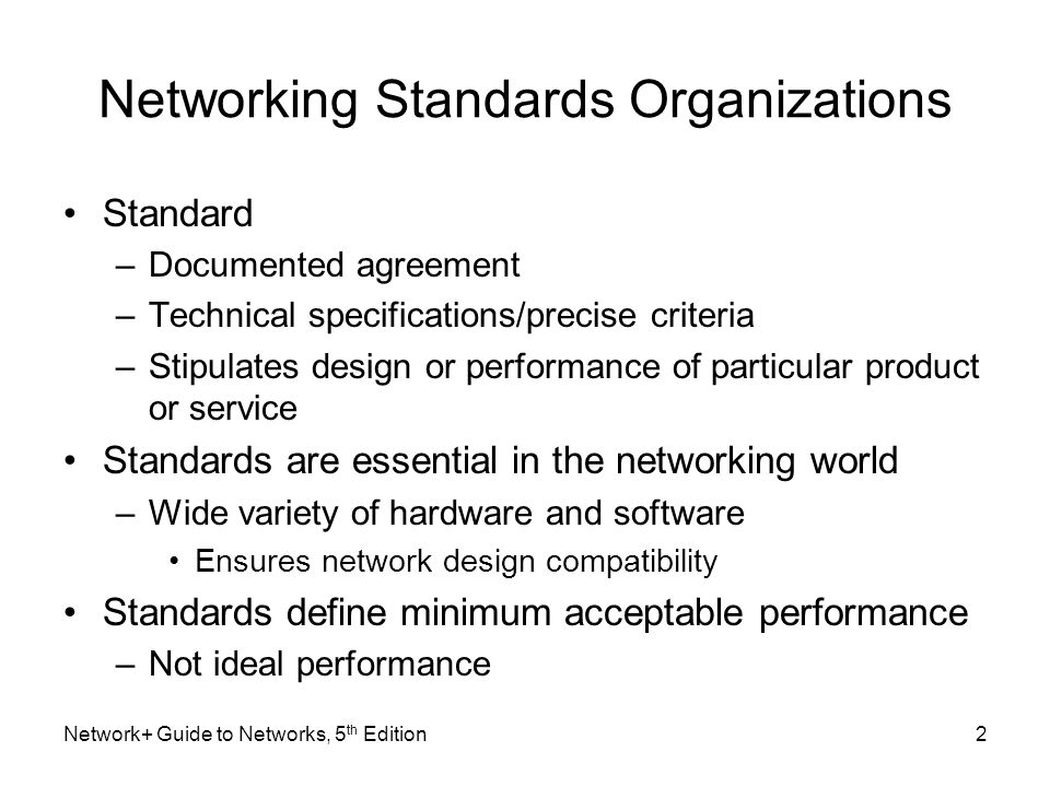 network guide to networks 5 th edition chapter 2 networking rh slideplayer com guide to network essentials 6th edition pdf guide to network essentials case project 8-4