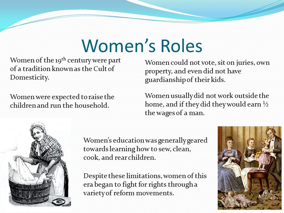 reform movements of the 19th century Need to reform society to hasten the new kingdom of god 3 biggest impact among women evangelical mission to accomplish gave women move status and purpose 4 frontier revivals featured emotional appeals and provided social meetings for settlers b new religious groups formed as.