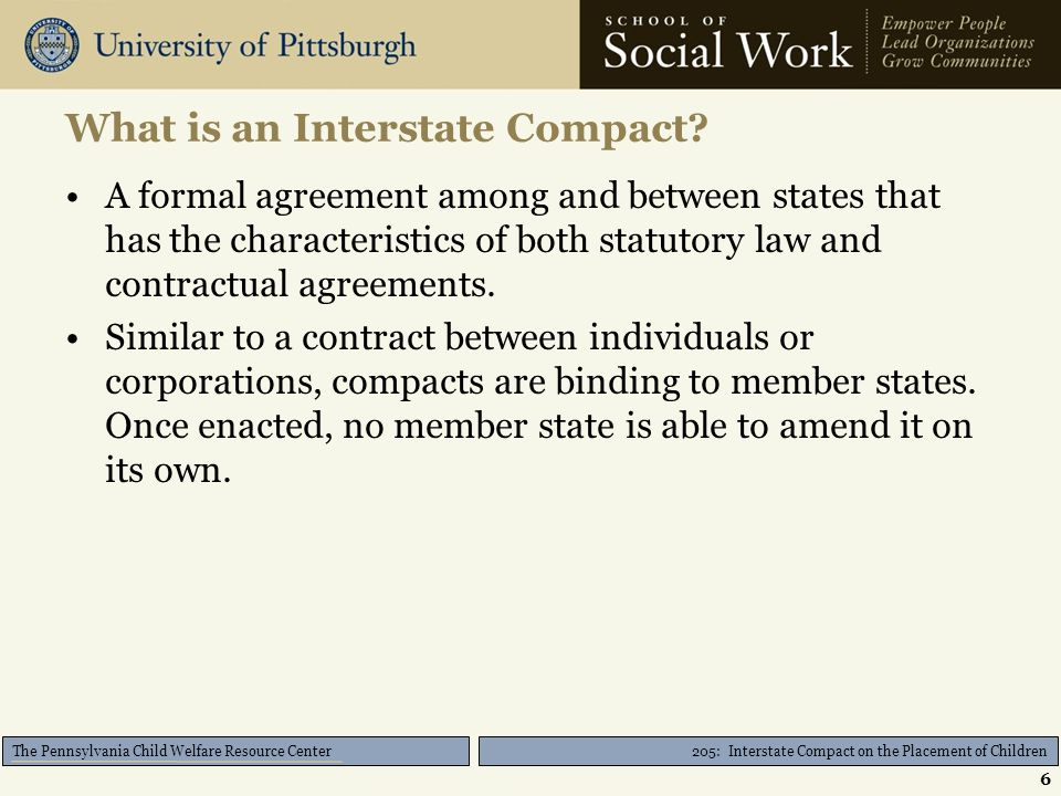 205 Interstate Compact On The Placement Of Children Ppt Download