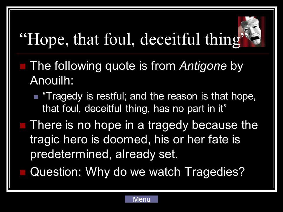 antigone tragic flaw quotes