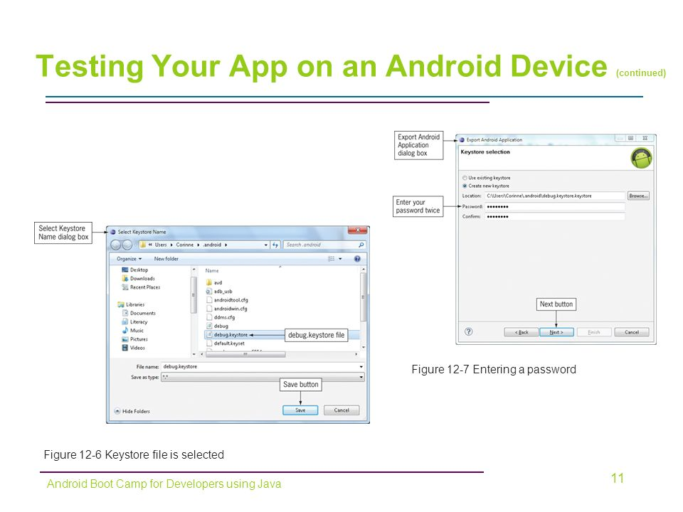 Chapter 12: Finale! Publishing Your Android App  Objectives In this