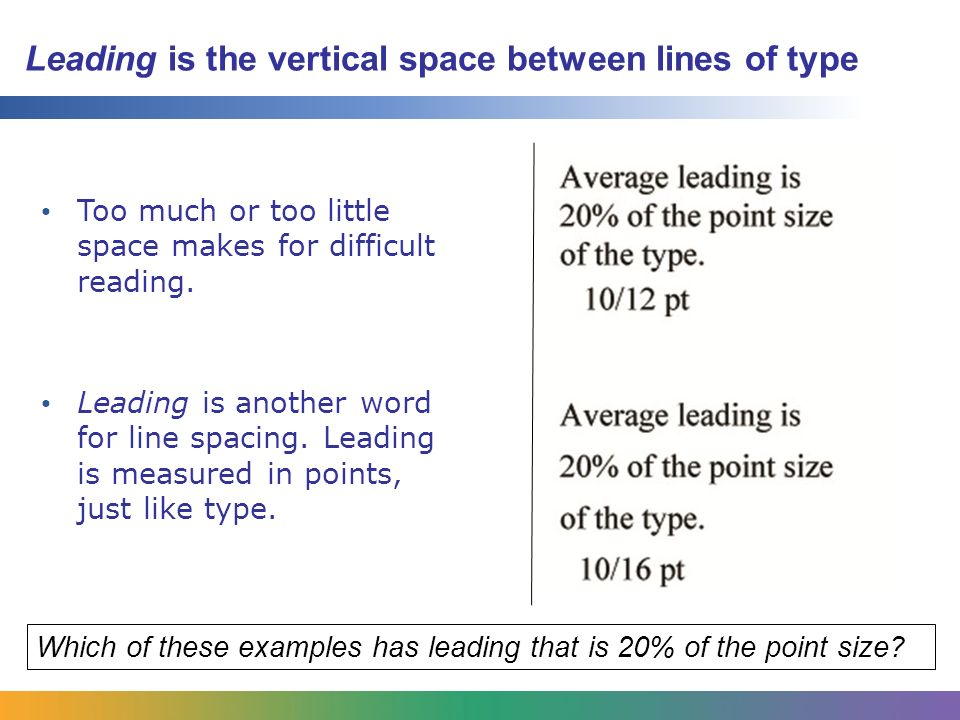 Aoit Graphic Design Unit 4 Lesson 11 Typography And Spacing Ppt