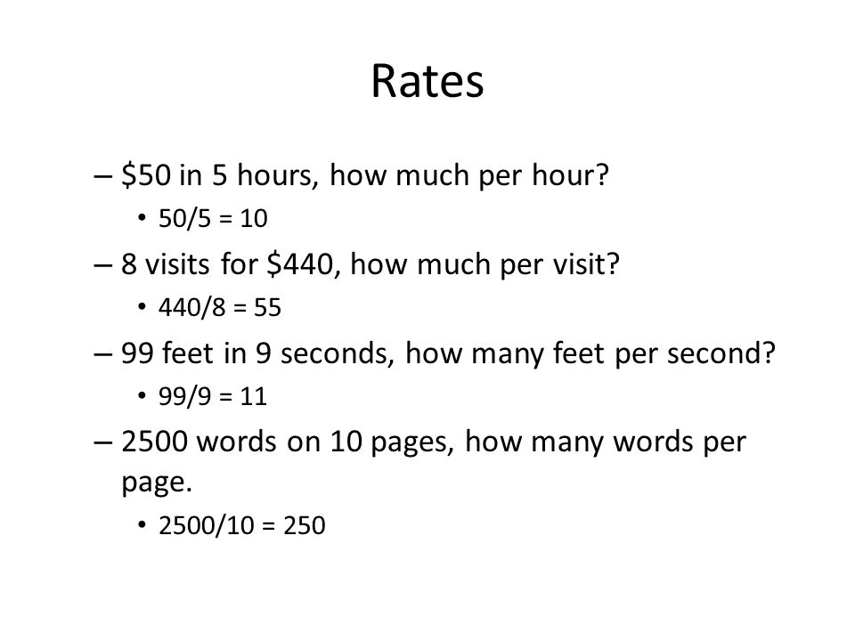 how many words per page
