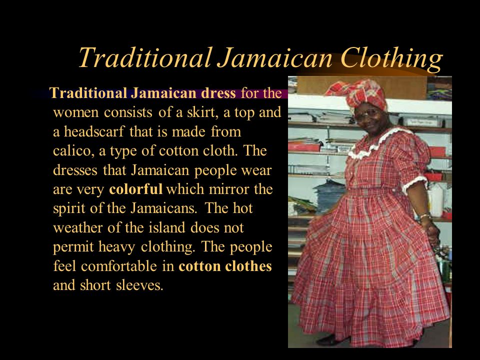 a38200e8c 26 Customs And Traditions Traditional Jamaican Clothing Jamaican  Handicrafts Jamaican Names