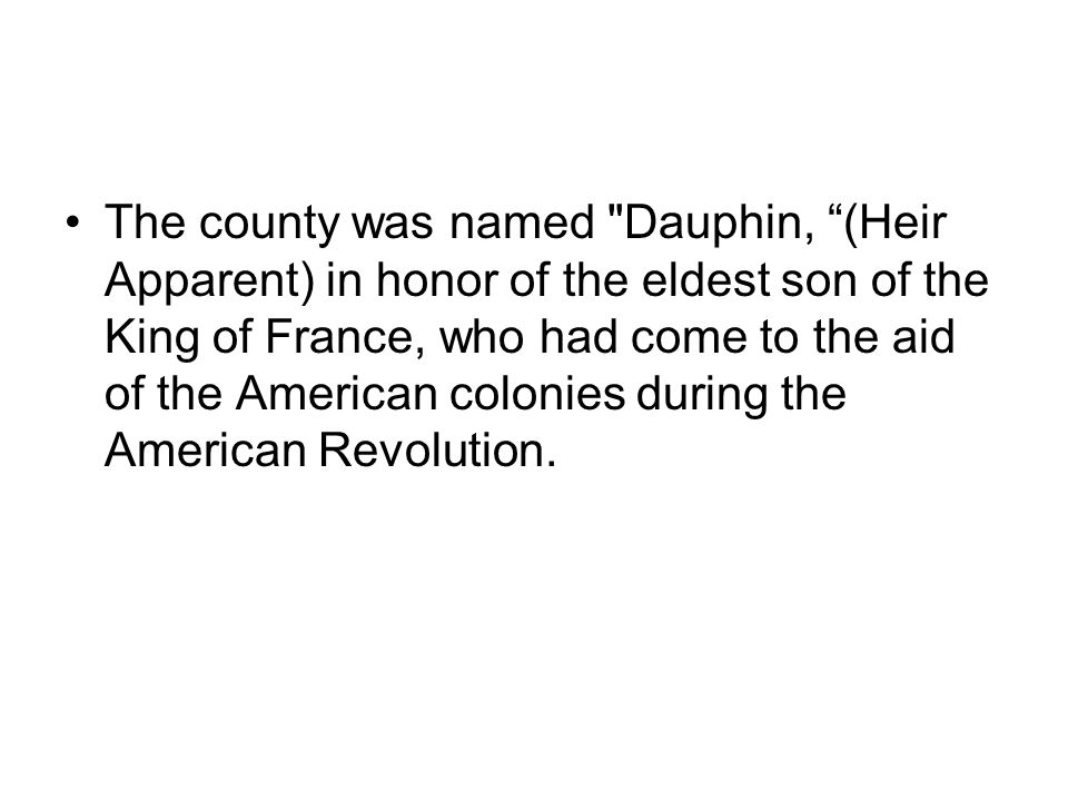 Dauphin County Government  Dauphin County Dauphin County is