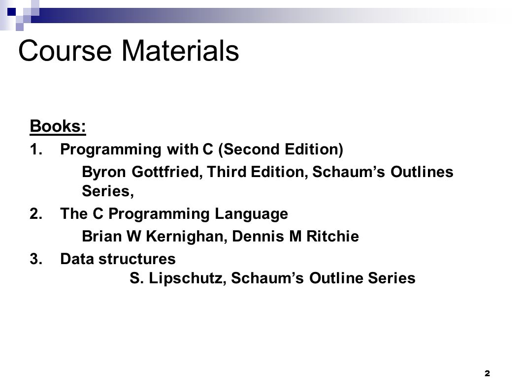 Schaums Outline Of Programming With C Ebook