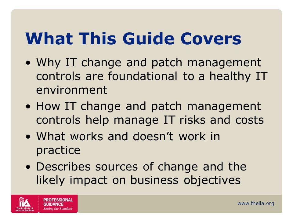patch management risks