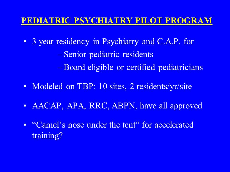 THE SHORTAGE OF CHILD PSYCHIATRISTS IN THE U S : CAUSES AND