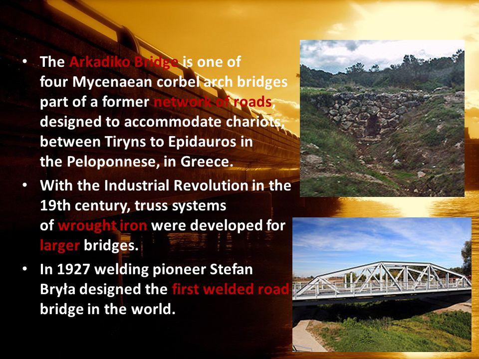 corbel arch bridge