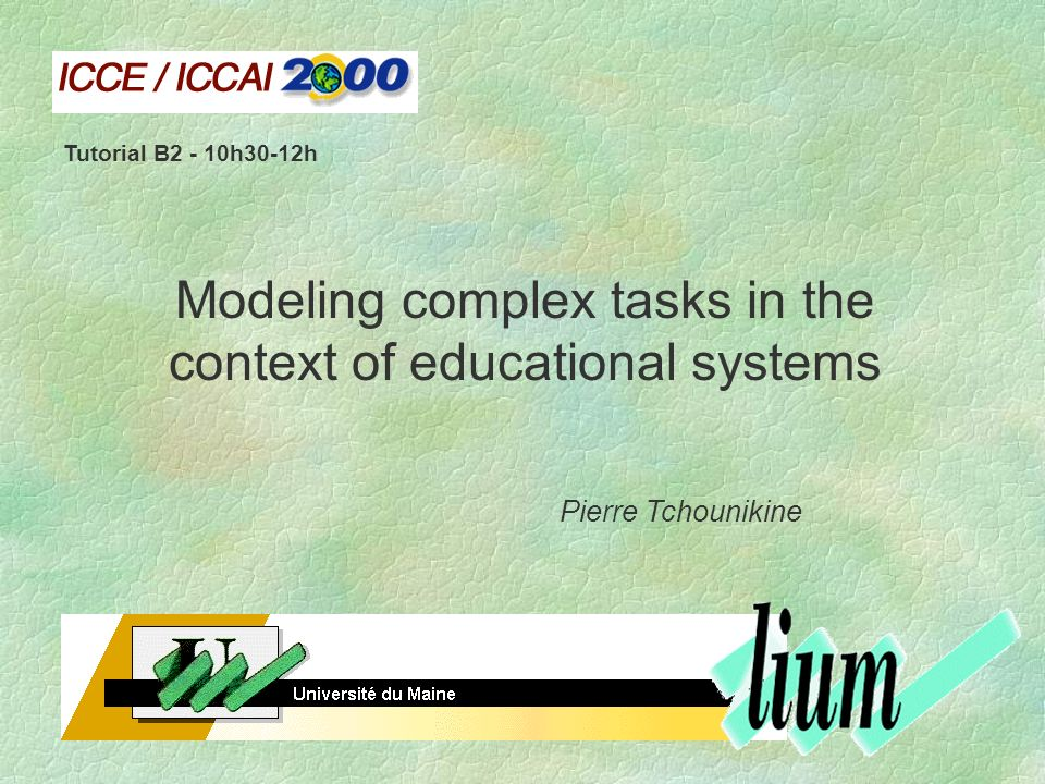 computer science and educational software design tchounikine pierre