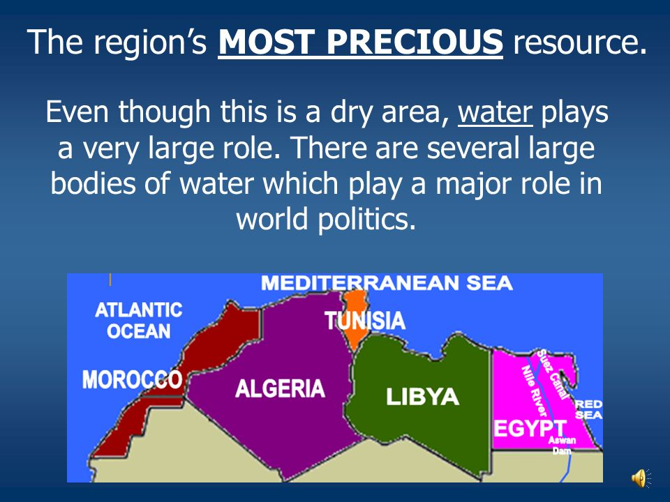 Tunisia: the climate of North Africa