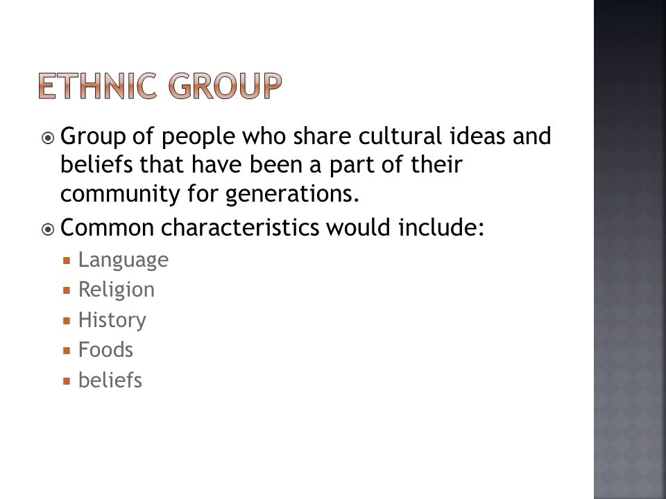 the different ethnic and cultural people ideas and beliefs that make up america African cultural practices and health implications for  made up of people from different ethnic groups and cultural  has to do with change of cultural beliefs.