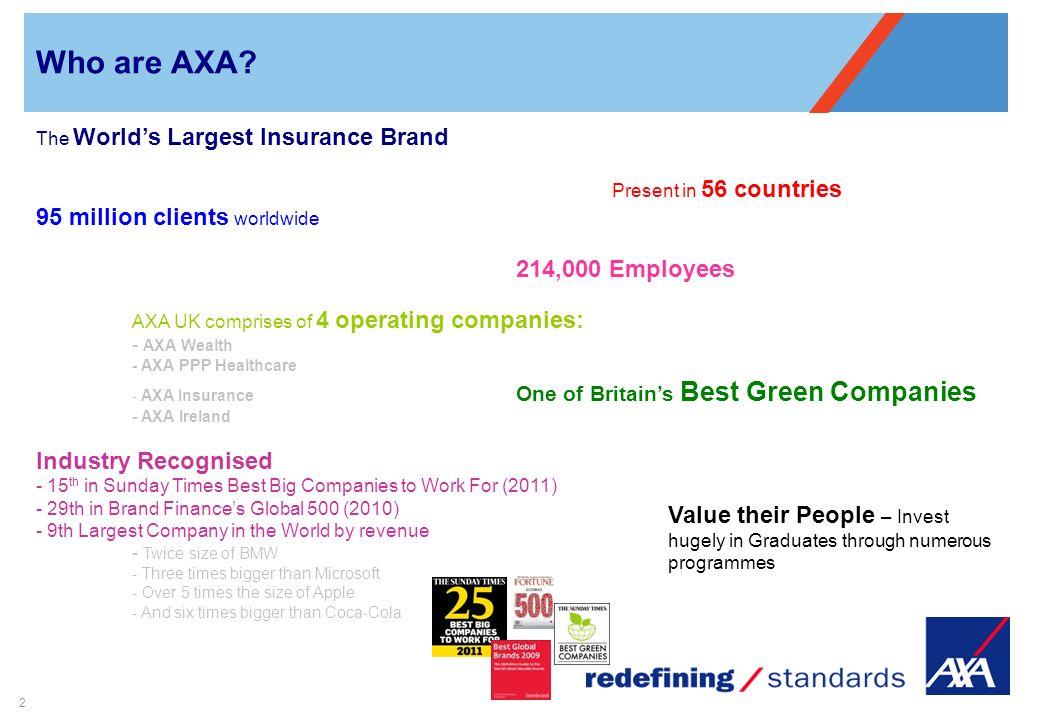 axa graduate programme emily duncan 2 who are axa the world s