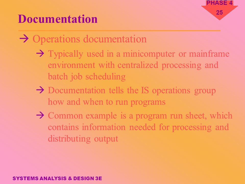 Phase 4 Systems Implementation Application Development Systems Analysis Design Ppt Download