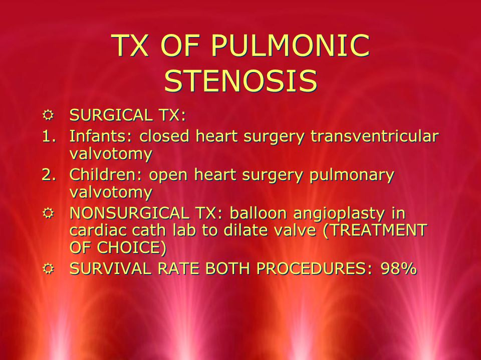 PULMONIC STENOSIS RStenosis means what and where.