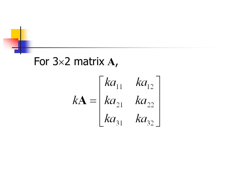 For 3  2 matrix A,