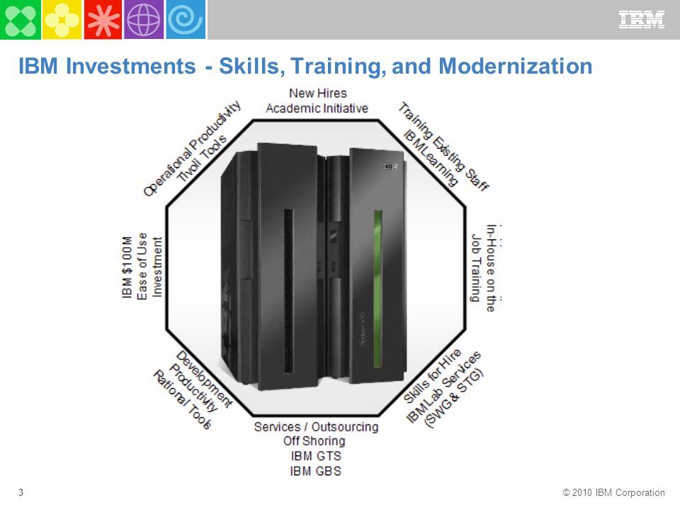 2010 IBM Corporation The future runs on System z Mainframe Skills