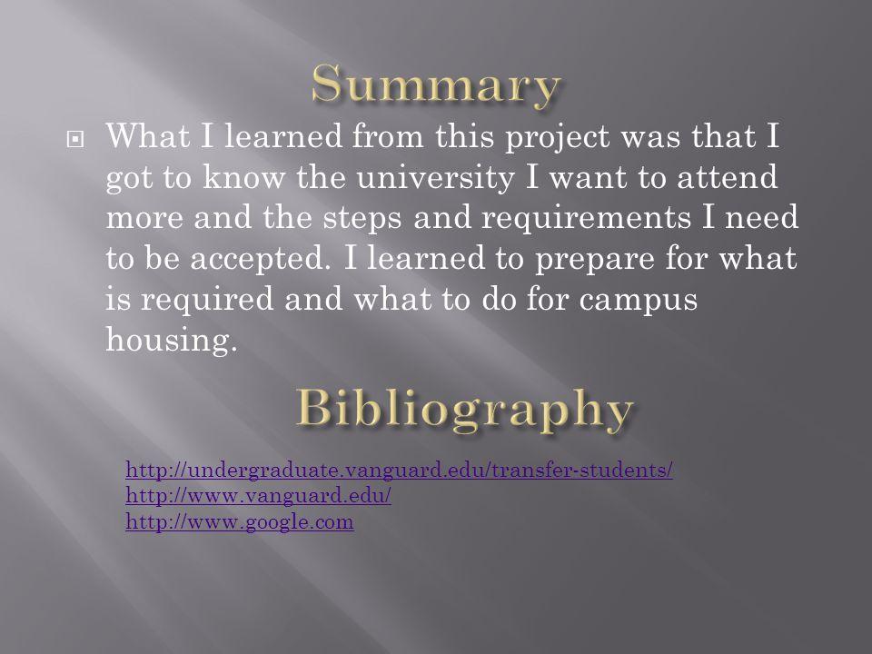 By: Cesar Ledesma  Why Vanguard? It is a Christian school I