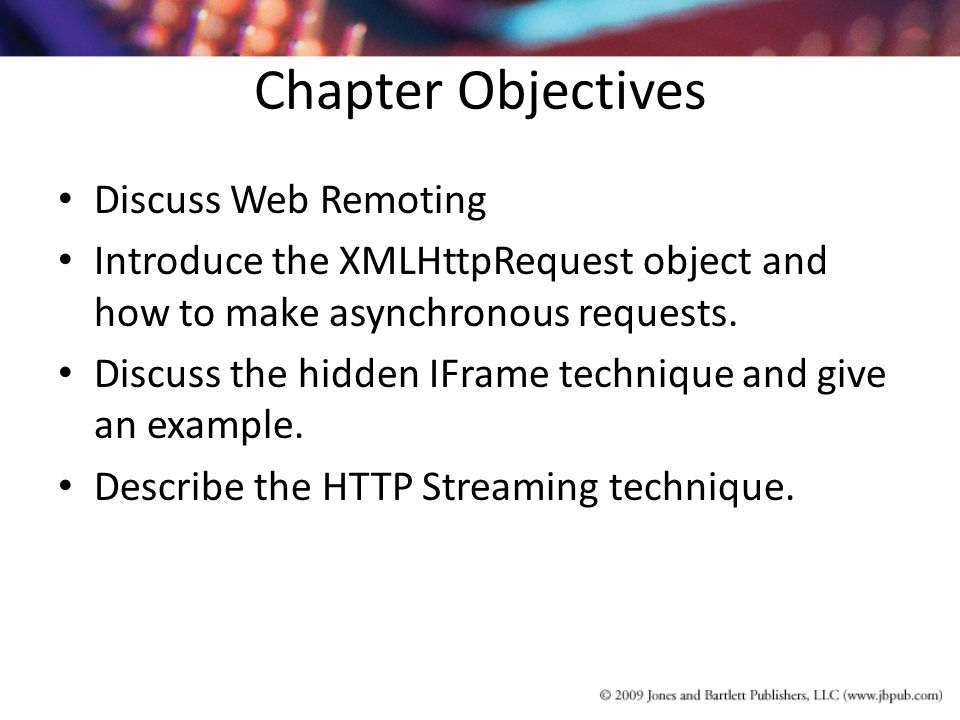 Chapter 5 Web Remoting Techniques – the A in Ajax  - ppt download