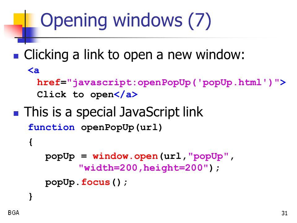 1 COSC 2206 Internet Tools JavaScript Client-side Scripting