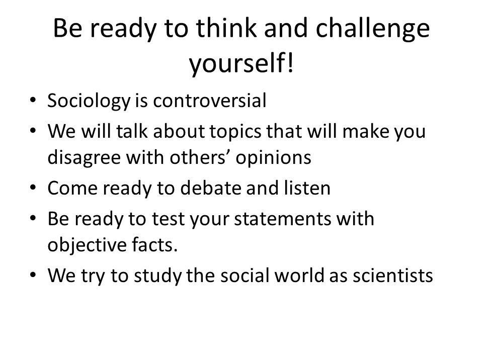 controversial sociology topics