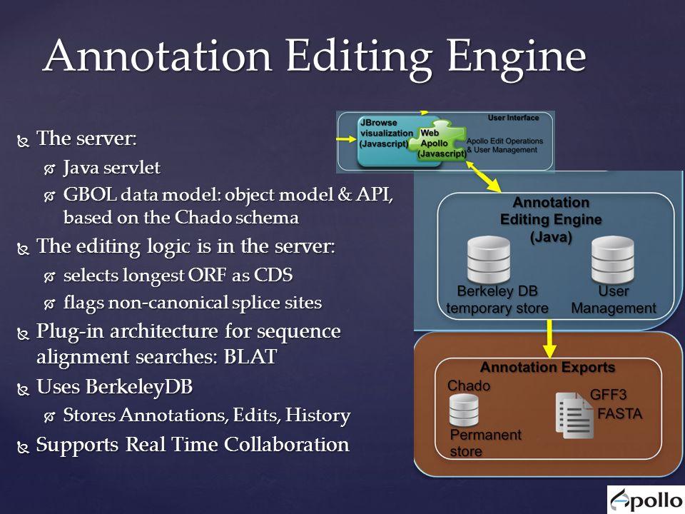 Web Apollo A Web-based Genomics Annotation Editing Platform