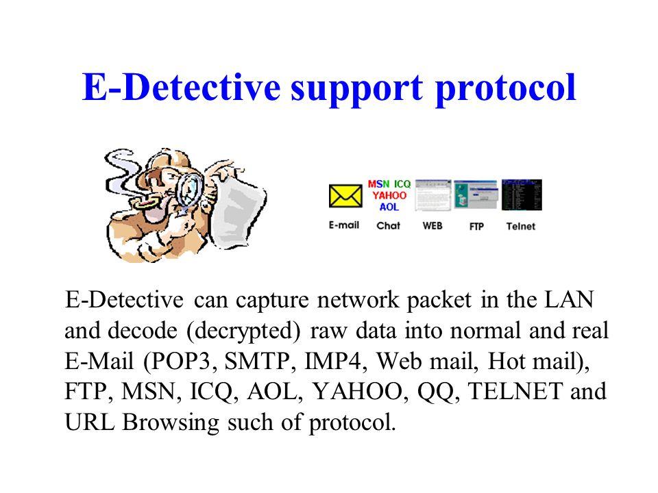 Surveillance Equipment For Internet Activities It is a