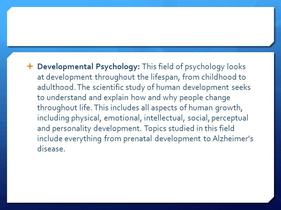 human growth and development topics