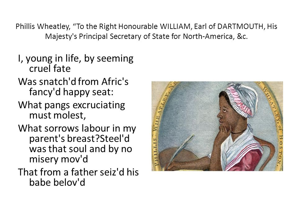 to the right honourable william earl of dartmouth
