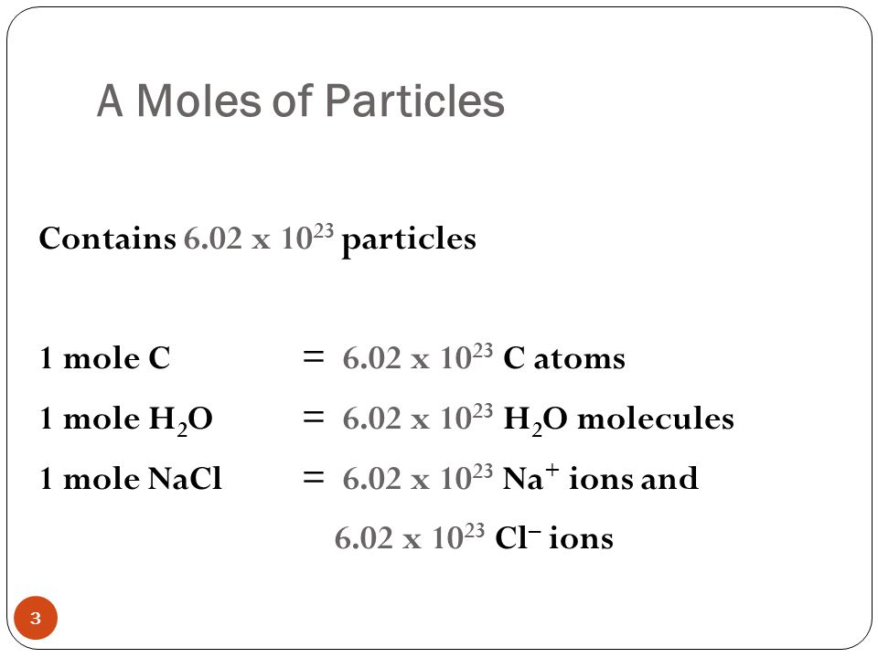 Chapter The Mole 5 6 Molar Mass 5 7 Mole Relationships In Chemical