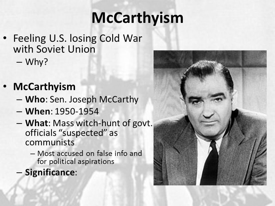 Agenda Complete Discussion on Korean War McCarthyism