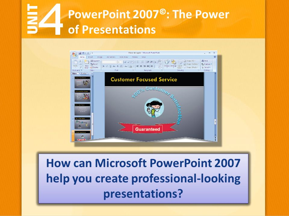 powerpoint 2007 the power of presentations how can microsoft
