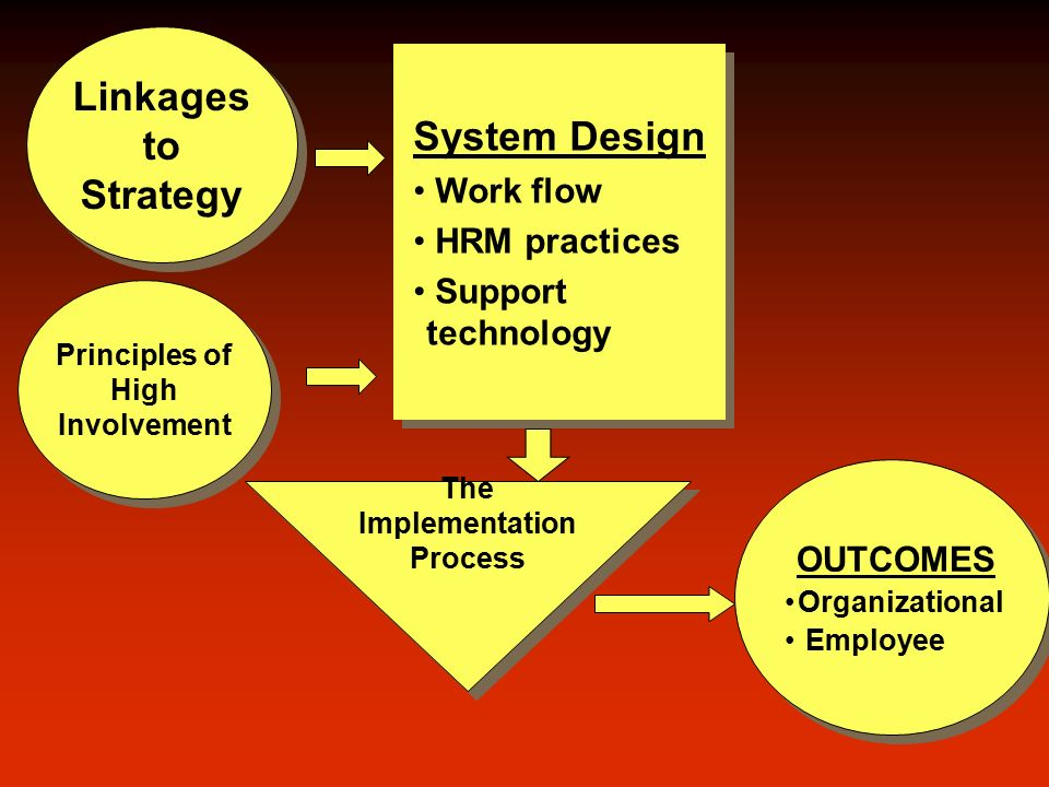 Developing High-Performance Work Systems