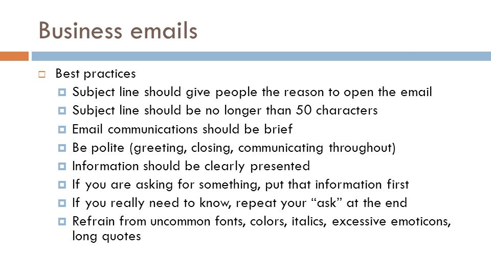 Professional business writing sarah ziebell information resource 2 business emails m4hsunfo