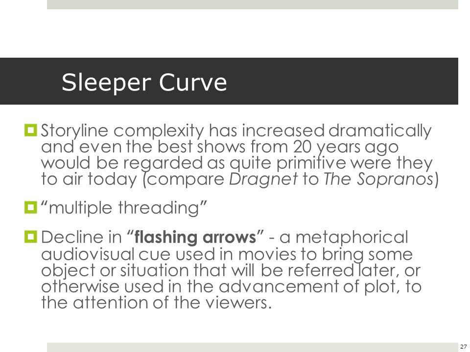 sleeper curve