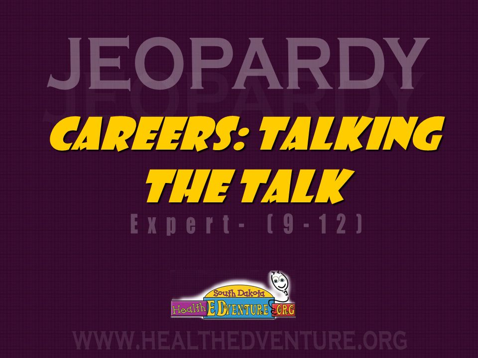 Careers: Talking The talk