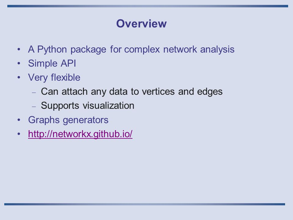 Software tools for Complex Networks Analysis Giovanni Neglia, Small