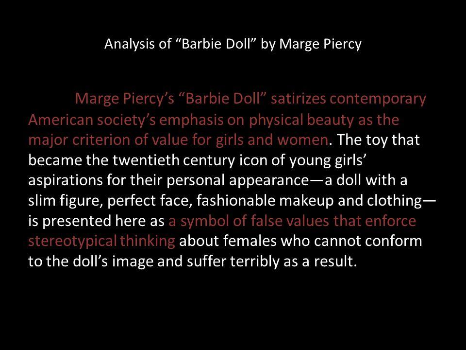 barbie doll marge piercy theme