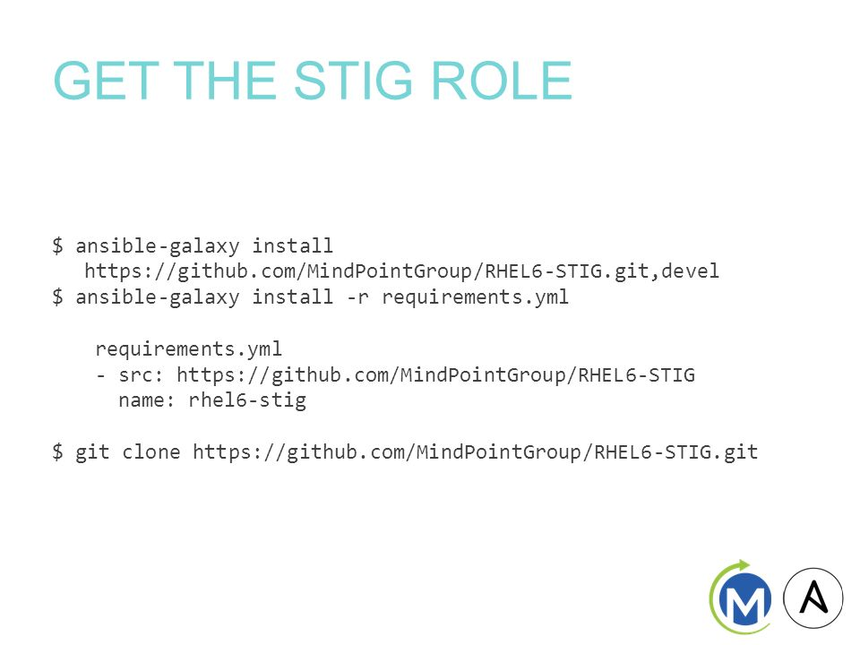 STIG Compliance and Remediation with Ansible April ppt download