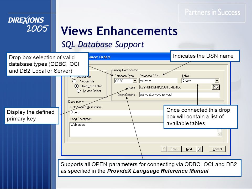 ProvideX Data Dictionary & Views System Presented by
