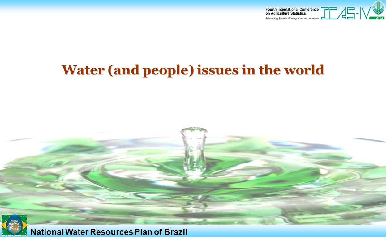 Water resources of the world: characterization and use 44