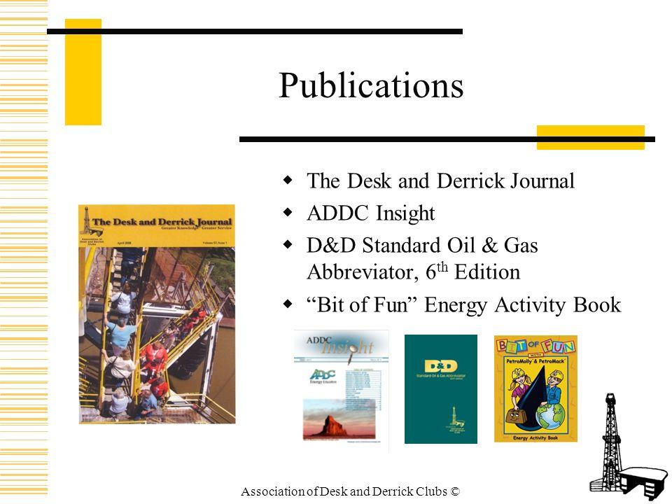 D&D Standard Oil & Gas Abbreviator, 6th Edition