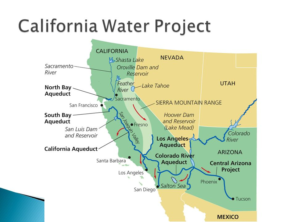 The California State Water Project is the largest ... on california relief map project, california aqueduct, feather river canyon map, lake perris map, california state symbols art project, westlands water district map, california sea level rise, california valley yosemite national park, state water system map, california state road map, san diego county water districts map, silverwood lake map, california state university system map, california central valley project, california state parks map,