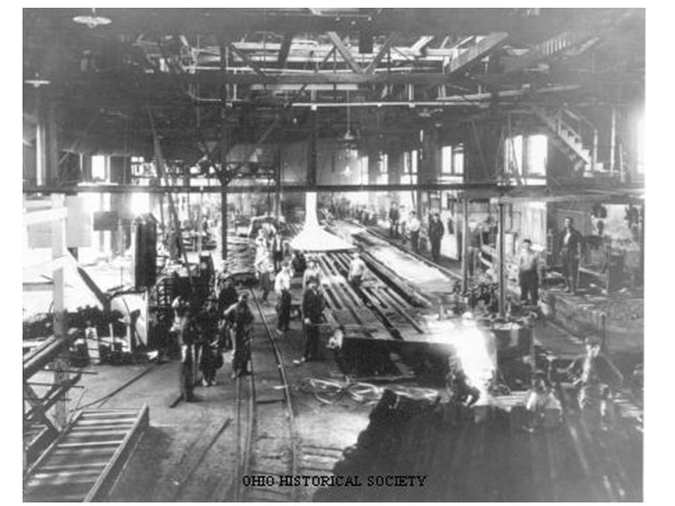 a look at the steel mill immigrants of industrial america Former wheeling-pittsburgh steel company's main hot metal steel mill in mingo junction, ohio, also later owned by esmark, severstal north america, inc, rg steel, and finally by frontier industrial corp, who purchased the idled mill in 2012 when rg steel went bankrupt.