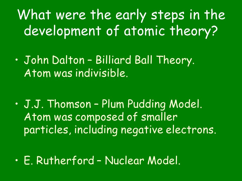 Electrons In Atoms Chapter 5 What Were The Early Steps. What Were The Early Steps In Development Of Atomic Theory. Worksheet. Chapter 6 Development Of Atomic Theory Worksheet At Mspartners.co