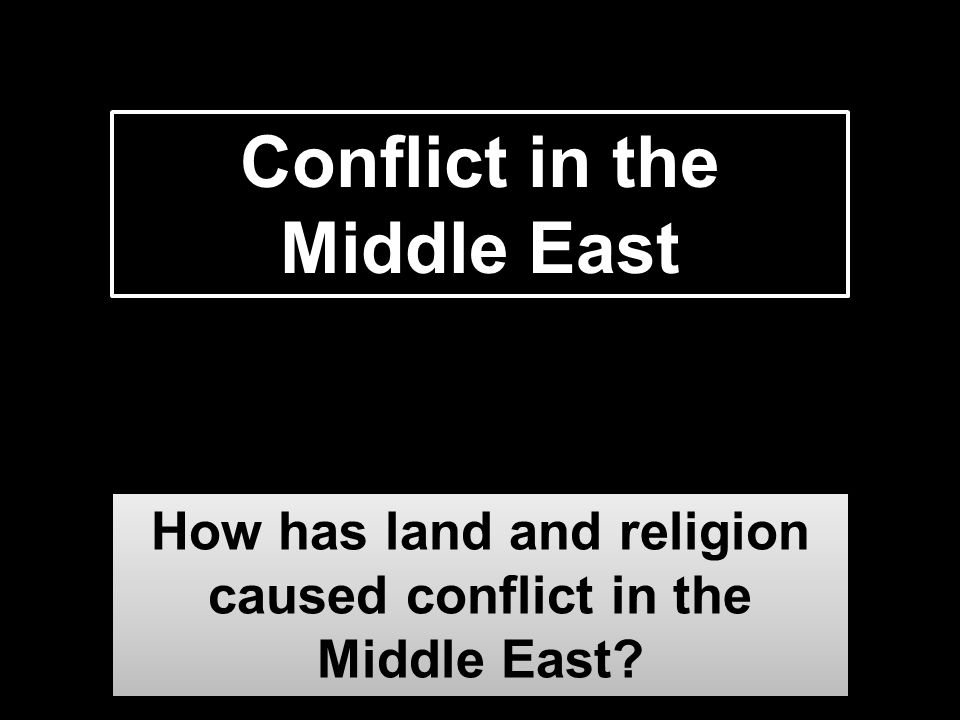 religion causes conflict essay People may blame religion for conflict when in reality- most of the time conflict is brought forth by personal greed saying religion is the cause is the easiest way to justify themselves and makes it easier for people to rally.